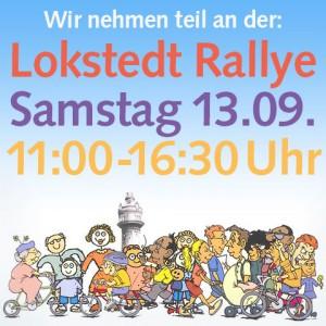 Wir nehmen teil an der Lokstedt Rallye | Samstag 13.09. | 11:00-16:30 Uhr