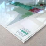 Rückseitig digitaler Direktdruck auf 6 mm Acrylglas, weiße Folie, Kanten poliert
