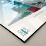 Digitaler Direktdruck auf 4 mm Alu-Dibond mit Glanz-Schutzlaminat