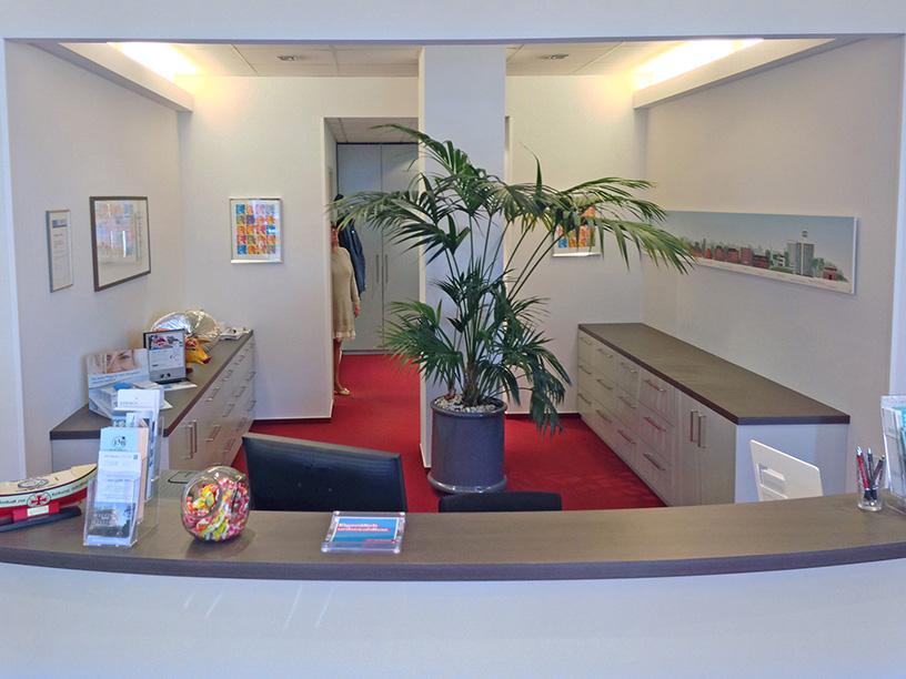 Panorama Personal im Laden von Rix Hörgeräte