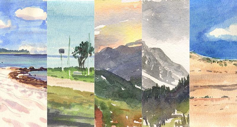 Ausstellung – Nach Aufforderung mit Werken von Joerg Kilian im Bürgerhaus Lokstedt