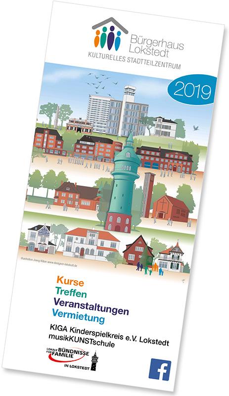 Bürgerhaus Lokstedt Programmheft 2019